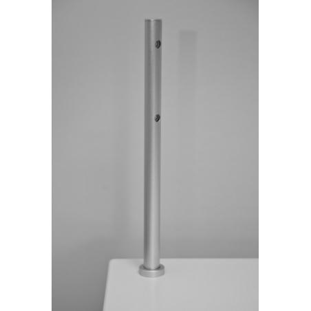 Foco LED, tipo 7, 216mm, 2w, plateado (cable eléctrico incluido)