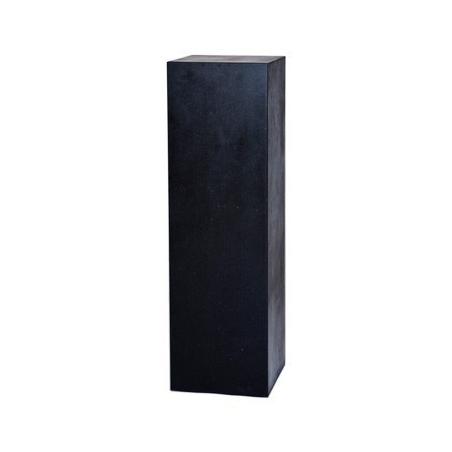 Peana con efecto piedra, 60 x 60 x 100 cm