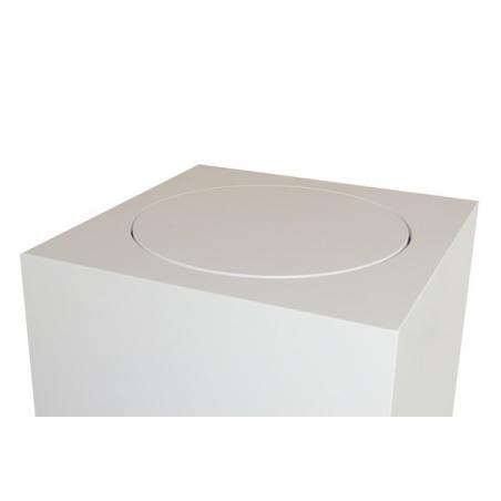 Plato giratorio redondo, manual, 30 kg