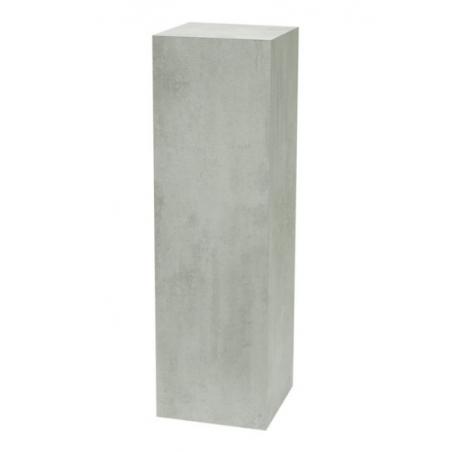 Peana con efecto hormigón, 60 x 60 x 100 cm