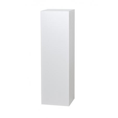 peana blanca, 60 x 60 x 100 cm