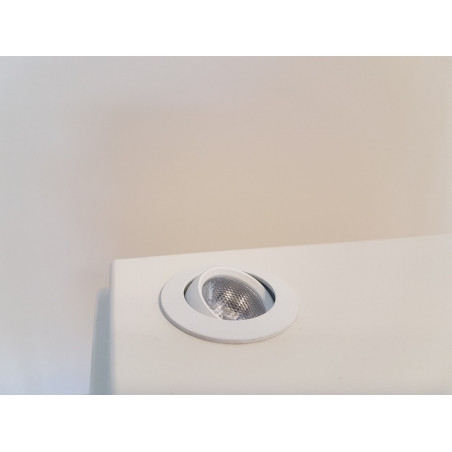 LED-Spot, Type 7, 216 mm, 2W, Silver (inclusief stroomkabel)