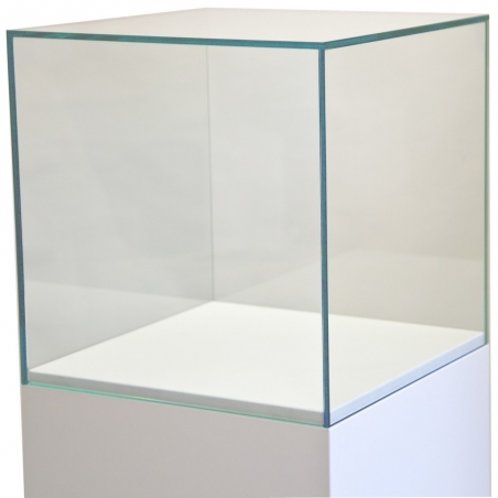 Urna protectora vidrio 35 x 35 x 35 cm