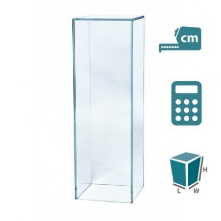 Sockel Glas, nach maß