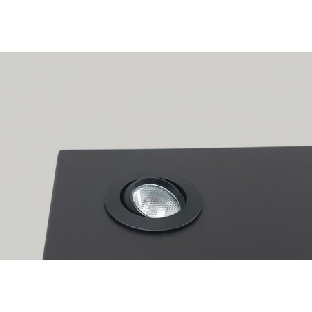 LED-Spot, Type 7L, 405 mm, 4W, Silver (inclusief stroomkabel)