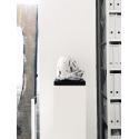 Peana blanca, 30 x 30 x 100 cm