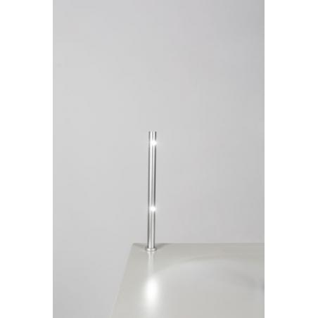 Foco LED, tipo 7, 216mm, 2x1w, 6000K, plateado (cable eléctrico incluido)