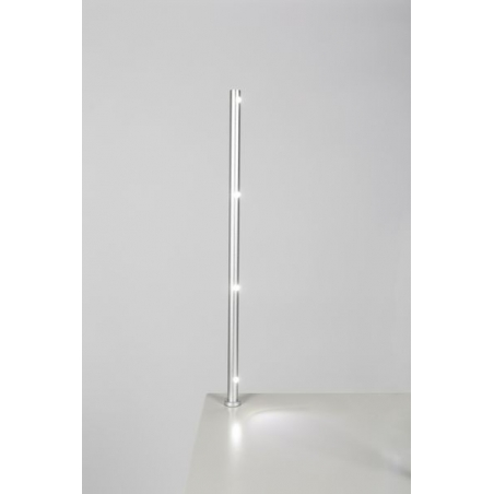 Foco LED, tipo 7L, 405mm, 4w, 6000K, plateado (cable eléctrico incluido)