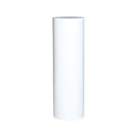 Peana blanca redonda, Ø 20 x 100 (a)