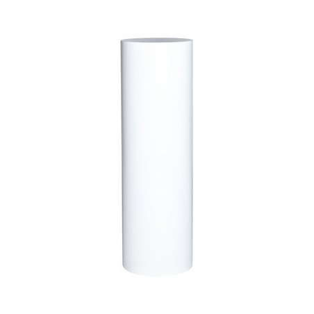 Peana blanca redonda, Ø 31.5 x 100 (a)