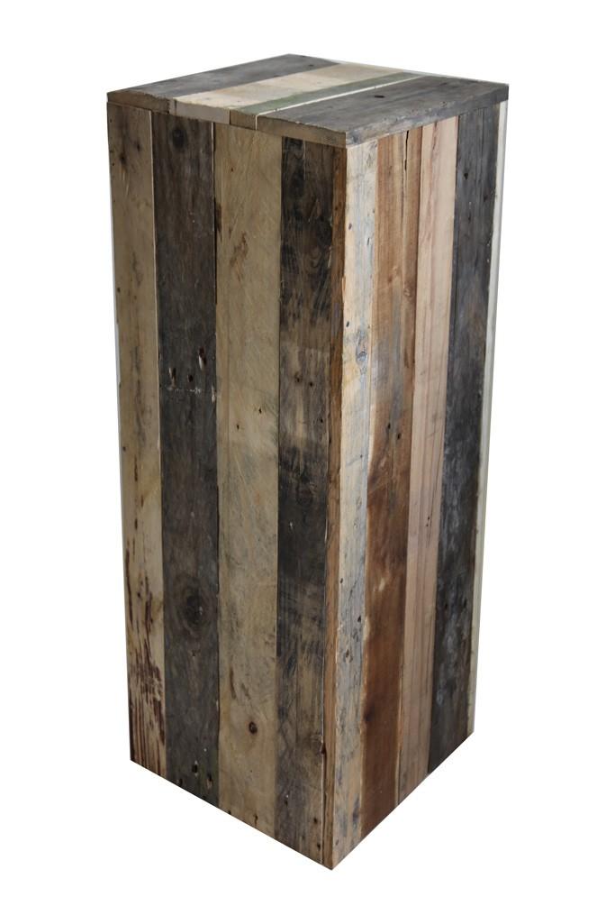 Peana de madera reciclada